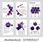 abstract vector layout... | Shutterstock .eps vector #674505217