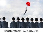 business change concept    Shutterstock . vector #674507341