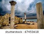 Ruins Of The Ancient Greek City
