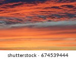 sky and storm clouds for... | Shutterstock . vector #674539444