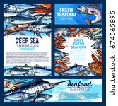 Fresh Fish And Seafood Banner ...