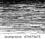 grunge old wood black cover... | Shutterstock .eps vector #674575675