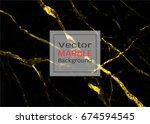 gold marble  vector pattern... | Shutterstock .eps vector #674594545