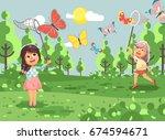 stock vector illustration... | Shutterstock .eps vector #674594671