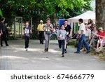 july 9  2017   feast of the... | Shutterstock . vector #674666779