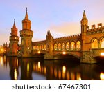 Stock photo berlin oberbaumbridge 67467301