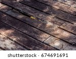 Old Gray Planks Are Laid Out I...