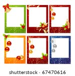 set of celebratory christmas... | Shutterstock .eps vector #67470616