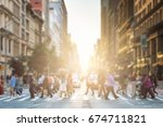anonymous group of people... | Shutterstock . vector #674711821