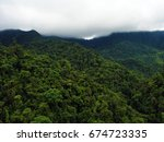 cloud forest in mindo  ecuador. ... | Shutterstock . vector #674723335