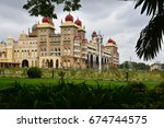 the majestic mysore palace | Shutterstock . vector #674744575
