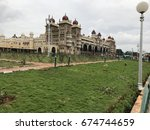 the majestic mysore palace | Shutterstock . vector #674744659