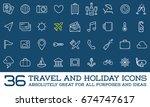 travel icons raster set  great...   Shutterstock . vector #674747617