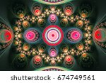 geometric patterns can... | Shutterstock . vector #674749561