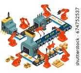 a vector illustration of... | Shutterstock .eps vector #674752537