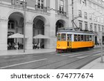lisbon  portugal   june 7  2017 ... | Shutterstock . vector #674777674