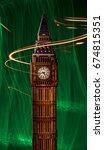 big ben | Shutterstock . vector #674815351