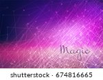 abstract background  glow of... | Shutterstock .eps vector #674816665