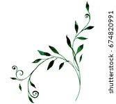 wildflower roses flower in a... | Shutterstock . vector #674820991