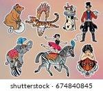 Set Of Vintage Circus...