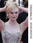cannes   may 23  2017  elle...   Shutterstock . vector #674865061