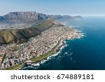 cape town  south africa  ... | Shutterstock . vector #674889181