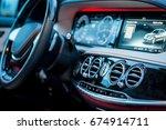 Auto. Luxury Car Steering Wheel ...