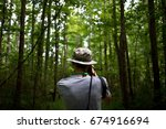 photo from the back of hipster... | Shutterstock . vector #674916694