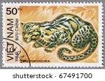 vietnam   circa 1984  a stamp...   Shutterstock . vector #67491700