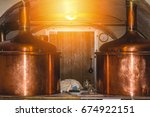 czech brewery | Shutterstock . vector #674922151