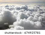 Clouds And Beautiful View On...
