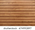 brown wooden background | Shutterstock . vector #674992897