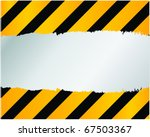 under construction   vector | Shutterstock .eps vector #67503367