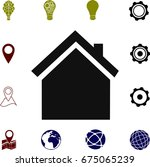 home icon  vector best flat...