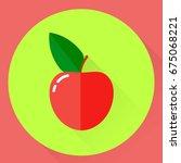 vector illustration. flat round ... | Shutterstock .eps vector #675068221