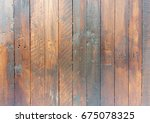 abstract wood texture. simple... | Shutterstock . vector #675078325