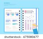 business illustration | Shutterstock .eps vector #675080677