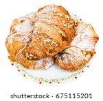 Three Fresh Italian Croissants...