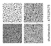 texture set | Shutterstock .eps vector #675129175