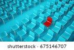 empty chair rows  3d... | Shutterstock . vector #675146707