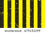 line yellow and black color...   Shutterstock .eps vector #675152299