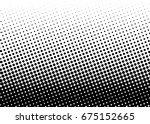 halftone background. comic... | Shutterstock .eps vector #675152665
