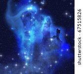 Blue Eagle Nebula   The...