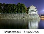 Nagoya Castle  Japan At Night