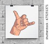 realistic sketch hands  ...   Shutterstock .eps vector #675251371