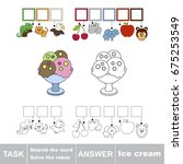 educational puzzle game for... | Shutterstock .eps vector #675253549