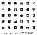 printing icons | Shutterstock .eps vector #675263605