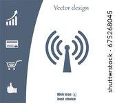 wi fi icon | Shutterstock .eps vector #675268045
