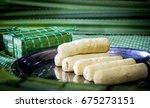 vietnamese cake vietnamese... | Shutterstock . vector #675273151