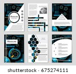 abstract vector layout... | Shutterstock .eps vector #675274111